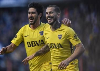 Boca jugó un gran primer tiempo, parejo en todas las líneas, y efectivo con Pérez y Benedetto.