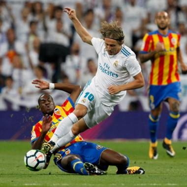 Valencia hizo un gran partido en el Bernabéu y cerca estuvo de llevarse los tres puntos.