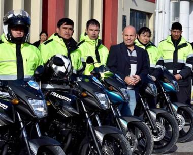Las nuevas motocicletas fueron adquiridas con fondos propios del Estado municipal.