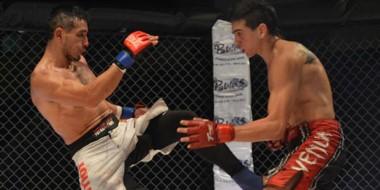 """El trelewense Fabricio """"La Roca"""" Arévalo hará su reaparición en la jaula del MMA en el Gimnasio Municipal 1."""
