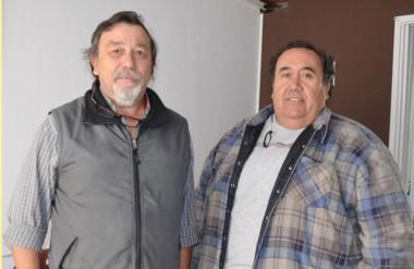 Daniel Espósito y Gustavo Lefipán contaron las gestiones.