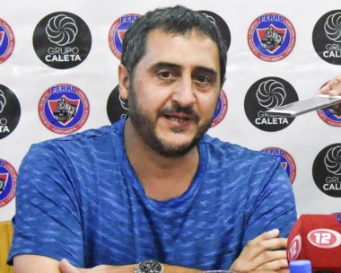 Gustavo Hernández, presidente del club Ferro, vive momentos de ensueño con la llegada al Torneo Federal.