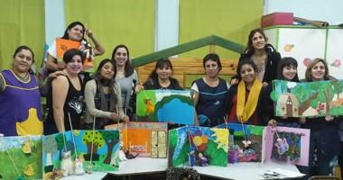 Los talleres y charlas fueron programados por PAE  Junto a la  Fundación Nuevo Comodoro.