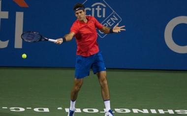 El argentino no pudo con Nishikori y se despidió del ATP 500 de Washington.