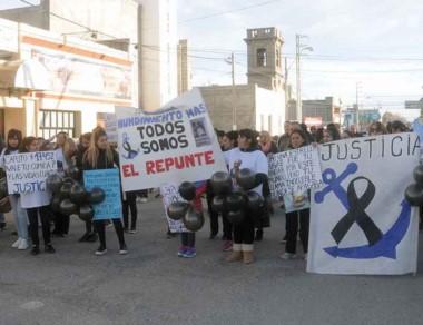 Los familiares de los desaparecidos del barco El Repunte marcharán.