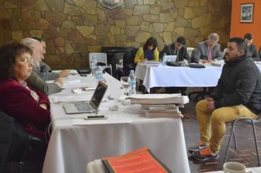 Frente a frente. Burgos se sentó frente al TOF y dio su versión de su participación en el resonante caso.