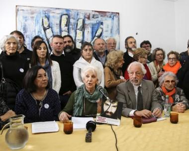 Estela de Carlotto hizo el anuncio de la convocatoria para el viernes.