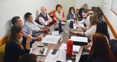 Maza se reunió ayer con la Comisión de Hacienda del Concejo Deliberante.