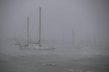 El ojo del huracán Irma tocó tierra de nuevo en Marco Island, Florida.