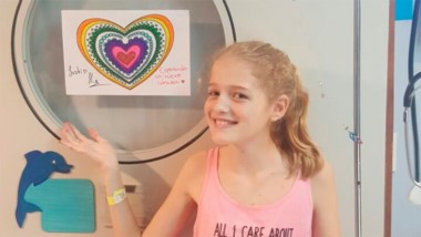 Pese a estar en grave estado, Justina pidió a sus padres que concienticen a la gente en la necesidad de donar órganos. (Archivo).