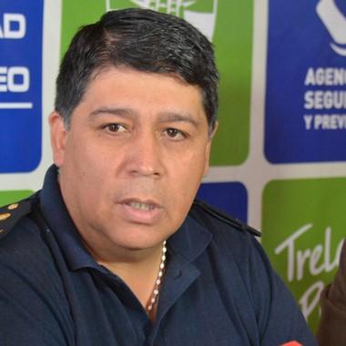 Comisario mayor José Luis Matschke. Jefe de la Unidad Regional Trelew.