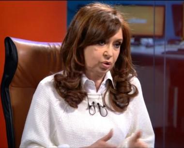 Cristina Kirchner dejó abierta la posibilidad de volver en 2019.