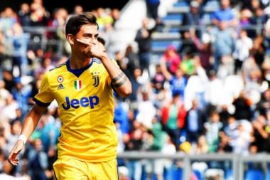 """Otro tiplete de """"La Joya"""" Paulo Dybala en el Calcio: cuatro partidos de Serie A, 8 goles."""
