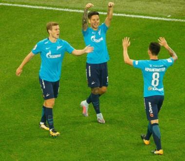 Golazo made in Argentina. Kranevitter asistió a Driussi en goleada del Zenit.