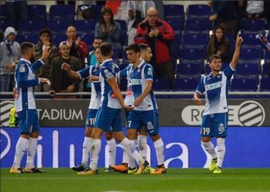 Pablo Piatti convirtió en la victoria del Espanyol sobre Celta.