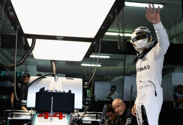 Hamilton logró record de poles.  11 años seguidos en la F1 teniendo un coche que le permita hacerla.