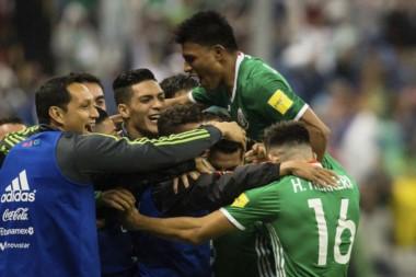 México se suma a Rusia, Brasil, Irán y Japón, como los primeros clasificados para el Mundial del año que viene.