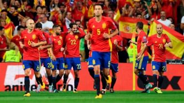 España se lució contra Italia en las Eliminatorias Europeas.