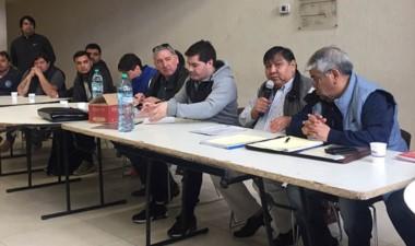 """Jorge """"loma"""" Ávila encabezó otro Plenario de los trabajadores."""