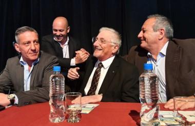 El nuevo ministro coordinador Jerónimo García participó junto a Hernández del lanzamiento del programa.