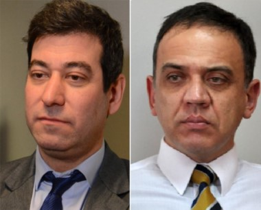 Dúo. Heiber (izquierda) deberá enfrentar la denuncia de su par Ferrín.