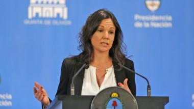 Carolina Stanley, titular de la cartera de Desarrollo Social de la Nación.
