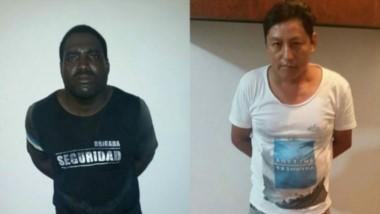 """Alberto Segundo Mina Ponce (33) y Aurelio Eduardo """"El Rojo"""" Rodríguez (39), ya están condenados a 40 años de cárcel."""
