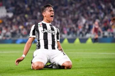 """La """"Joya"""" marcó un doblete en la goleada de Juventus ante Torino."""