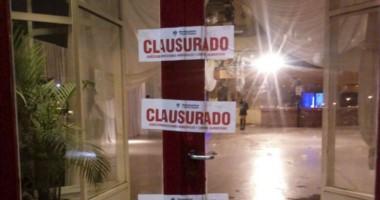 El edificio de La Estación fue cerrado por empleados municipales a raíz de una fiesta no autorizada.
