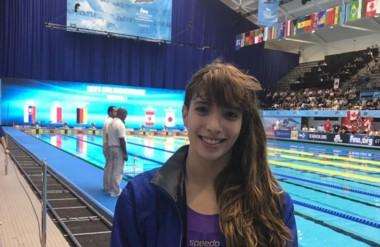 Julieta Lema viene de competir en el Mundial Junior de Indianápolis, donde obtuvo un nuevo récord nacional.