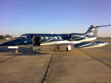 El avión privado (un Lear Jet 35 LV-BPL) que utilizaba Báez cuando fue detenido en el aeropuerto de San Fernando en abril de 2016, ahora servirá para combatir el delito.