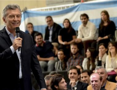 """Macri diferenció a la mayoría de los sindicatos con el """"Pata"""" Medina."""