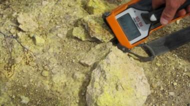La mayor parte del uranio-vanadio encontrado hasta la fecha en Ivana y en otras partes de la propiedad de Amarillo Grande.