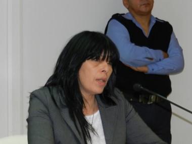 La funcionaria de fiscalía Silvana Salazar interviene en el caso
