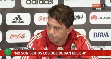 Gallardo salió al cruce sobre los que ponen en duda el resultado de Copa Libertadores ante el equipo boliviano.