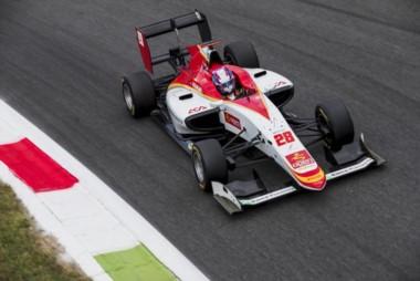Marcos Siebert se fue abriendo camino en el pelotón en la competencia que se desarrolló en el autódromo de Monza.