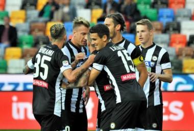Goleada de Udinese con tantos argentinos: dos de