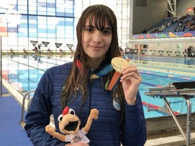 Julieta Lema sigue cosechando experiencia de cara a los Juegos Olímpico de la Juventud.
