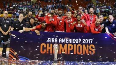 Estados Unidos venció a Argentina y se coronó en la Copa América de básquetbol en el Orfeo de Córdoba.