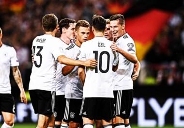 Alemania humilló a Noruega y queda muy cerca de la Copa del Mundo.
