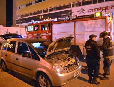 Luego de irse de la estación de gas, al doblar por Belgrano explotó.