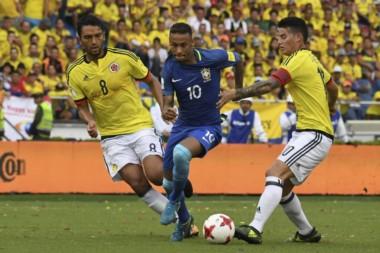 Fue empate entre Colombia y Brasil. Bajo un intenso calor, no se sacaron ventajas.