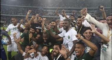 Arabia Saudita se convierte en la octava selección clasificada a Rusia 2018.