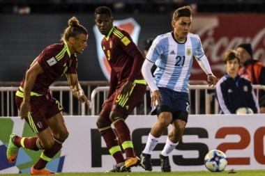 Esta es la primera vez que Venezuela no pierde ante Argentina como visitante en las Eliminatorias.