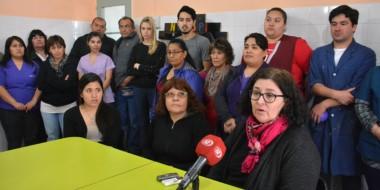 Explicación. La cúpula y los empleados de la institución hicieron pública su crítica situación económica.