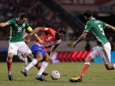 México perdona y Costa Rica acaricia el Mundial Rusia 2018.