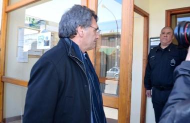 Llegada. El responsable de DD.HH. de Nación se entrevistó con Otranto pero no pudo hablar con la familia.