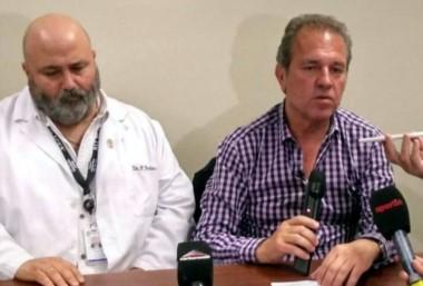 """Mauro Giallombardo comenzó a despertarse"", dijo el médico del Hospital Austral de Pilar."