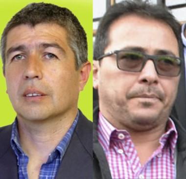 Suárez y Correa, los apuntados.
