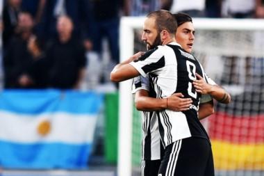 Juventus resolvió otro partido con goles argentinos. Muy bueno lo de Miralem Pjanic y lo de Paulo Dybala, quien entró desde el banco.